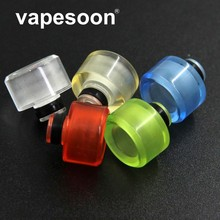 VapeSoon 5pcs/lot  510 Resin Drip Tip Wide Bore Mouthpiece
