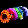 10colors 3M 10FT Nylon/Fabric Braided Micro USB Extension Data Sync Cable For Samsung Galaxy S4/ for HTC,Free Shipping