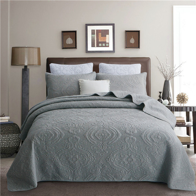Quilted-look Bedding Set Mawgie