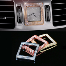 car accessory 3 colors available For Me-rcedes for B-enz E260L E300L time frame clock box decorated interior refitting