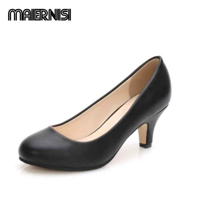 438578b768ce0 OCHENTA Women's Round Toe Kitten Heel Dress Work Party Pumps 6cm apricot  black gold silverhigh heels