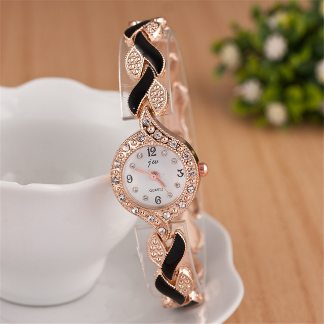 2019 Brand Bracelet Watches Women Luxury Crystal Dress Wristwatches Clock Women'