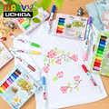 Marvy Kumaş Marker Kalemler 30 Renk Kumaş Boya Sanat Belirteçleri Seti Çocuk Güvenli ve Toksik Olmayan DIY Graffiti Boyama giyim Giyim