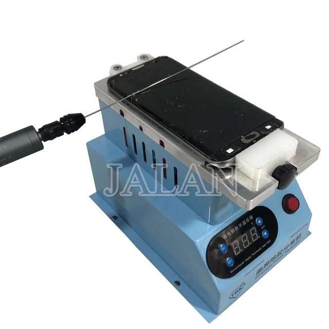 TBK מכונת עבור Samsung קצה במסגרת Lcd מסך Digitizer טמפרטורת שליטה נפרד ניקוי דבק מכונת