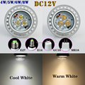 10pcs/lot CREE MR16 DC12V LED High Power Bubble Ball Bulb 4W/5W/6W/8W White/Warm White LED Spotlight Bulb Lamps