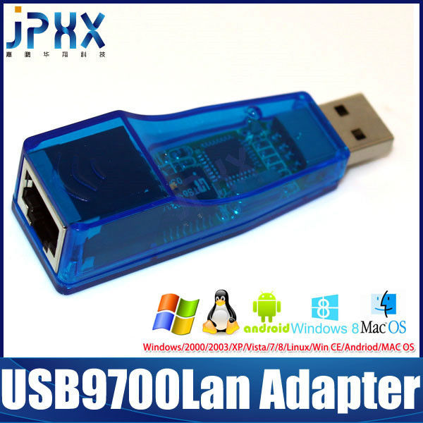 Usb20 to fast ethernet adapter ky-rd9700 driver