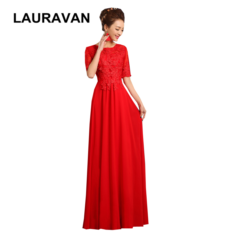 US $44.08 5% OFF|royal blue color simple wine red pink chiffon bridesmaid  long plus size dresses new fashion 2018 formal gowns free shipping-in ...