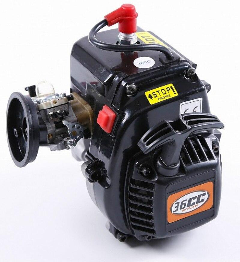 Rovan 36cc moteur à essence 4 boulons pour 1/5 HPI Baja 5B 5 T KM LOSI 5IVE-T FG RC pièces de voiture