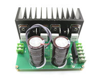 Assembeld HI FI Desktop Mini Stereo Power Amplifier Board Heatsink 200W 200W