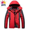 Nuevo invierno yardas grandes, Además de terciopelo grueso hombres chaqueta de abrigo de los hombres de Viento y impermeable chaqueta caliente casual tamaño L-4XL5XL6XL7XL8XL9XL