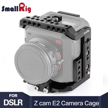 SmallRig DSLR Camera Cage for Z cam E2 Camera With Nato Rail 1/4 3/8 Thread Holes For Microphone EVF Mount Attach 2264 недорого