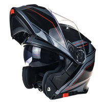 TORC T271 Flip Up Motorcycle Helmet Double Shield Motorbike Helmet DOT ECE Approved Safety Helmet