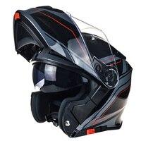 TORC T271 Flip Up Motorcycle Helmet Double Shield Motorbike Helmet DOT ECE Approved Safety Helmet