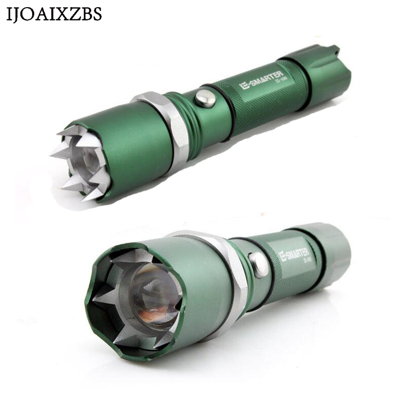 Q5 Flashlight Self-Defense LED Far Irradiation Rechargeable Tactical Lamp Hunting Emergency Defensive 18650 AAA Battery Charger