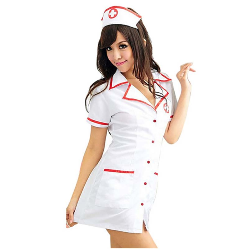 Naughty Sexy Nurse Costumes Dress For Women Cosplay Sexy Erotic Lingerie Hot Porn Erotic Lingerie Sexy Underwear Uniforms Suit