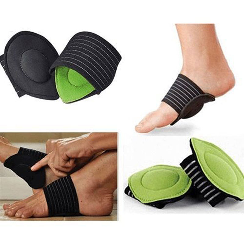 be21f9b7e1 ... Support Orthopedic Insoles Elastic Bandage Extra Thick Massage Orthotic  Cushion Foot Care. 1 pair=2 pcs. 10Pair-Anti-Slip-Cushion-Pads-Feet -Care-Tools-