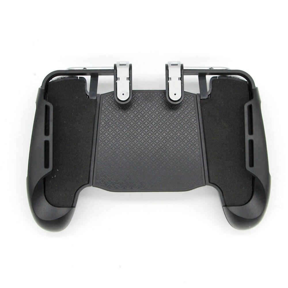 Touchscreen Drahtlose Mobile Gaming Shooter controller mit Trigger Feuer L1R1 Taste Ziel Schlüssel telefon Spiel joystick halter für PUBG