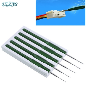 5X Car Wire Terminal Socket Pin Titanium Alloy Removal Maintenance Dismount Tool jun13 image