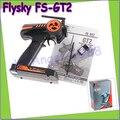 Оптовая 1 шт. Flysky FS-GT2 FS GT2 2.4 Г 2CH Gun Система RC Передатчик/Контроллер С 3 Каналов Приемника