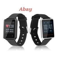 ABAY Z8 Relógio Inteligente Homens Sports Pulseira Bluetooth Smartwatch Mulheres Pulso Heart Rate Monitor de Pulso À Prova D' Água Relógio Despertador