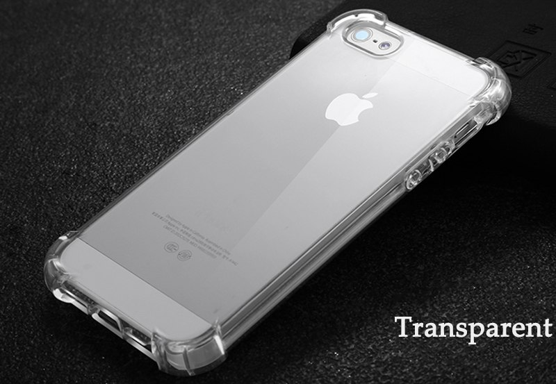 360 Anti-Knock Clear Full Protection Drop Resistant Case