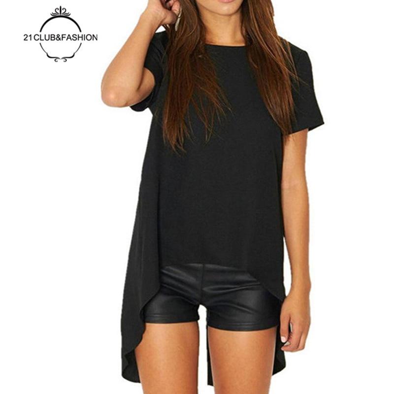 2017 Solid Plus Size font b Blouses b font font b Shirts b font Roupas Tops