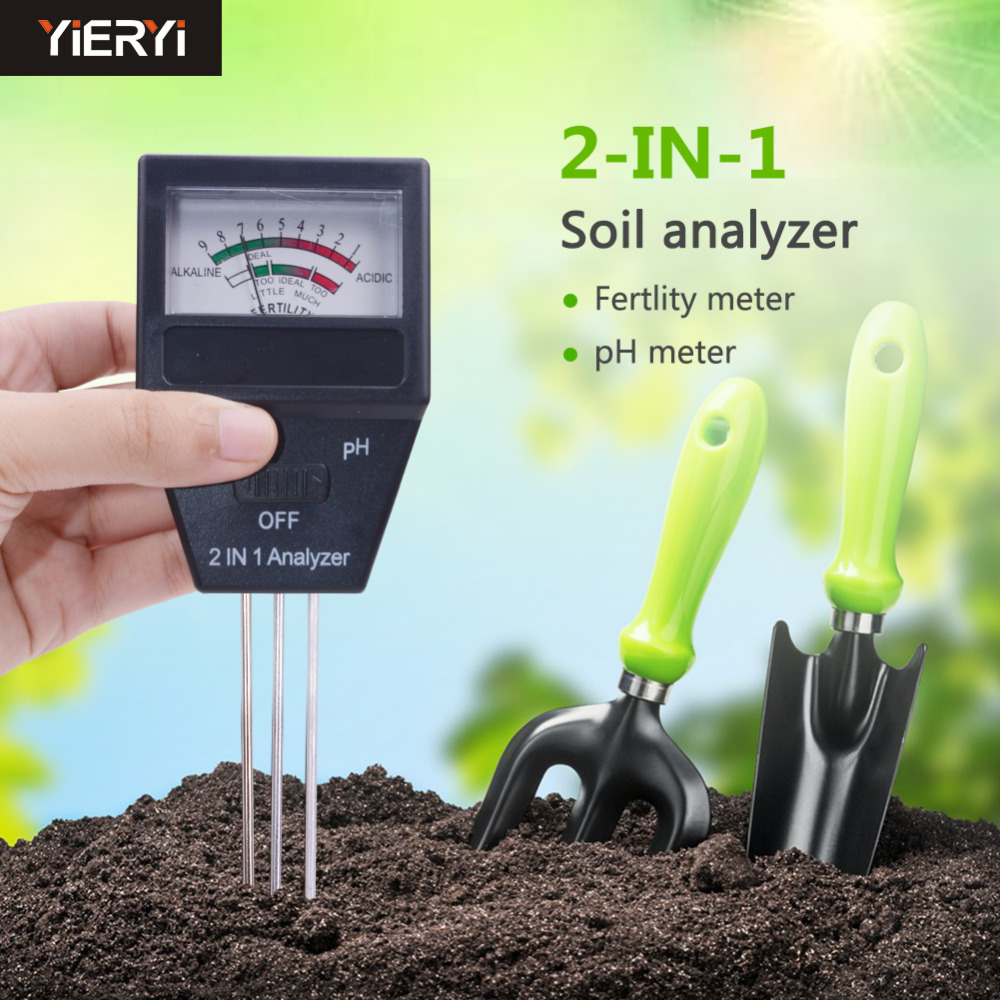 50 Pcs/Lot Portable Two-in-one Soil Fertility Analyzer Soil Detector Two-in-one Soil Fertility Meter PH Meter managing motherhood managing risk fertility and danger in west central tanzania