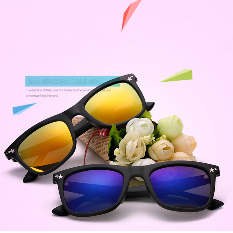 LAOKE 2016 New Fashion Children Sunglasses Boys Girls Kids Baby Child Sun Glasses Goggles UV400 mirror  WD552 kids plastic frame sunglasses children girls bownot cartoon cat shades eyeglasses oculos de sol crianca baby children sunglasses