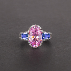 Image 5 - Onerain 高級 100% 925 スターリングシルバー作成モアッサナイトシトリンサファイア宝石の婚約結婚指輪ジュエリー卸売