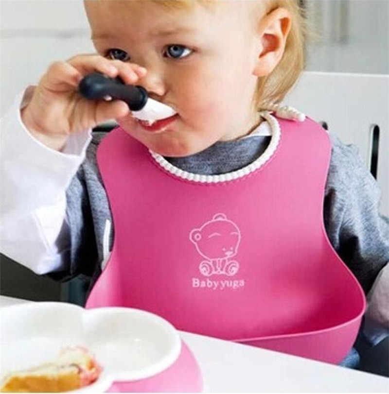 魅力的で健康赤ちゃん幼児キッズかわいいシリコーン赤ちゃんのよだれかけランチビブかわいい防水赤ちゃんよだれかけバンダナビブbaberosタオル
