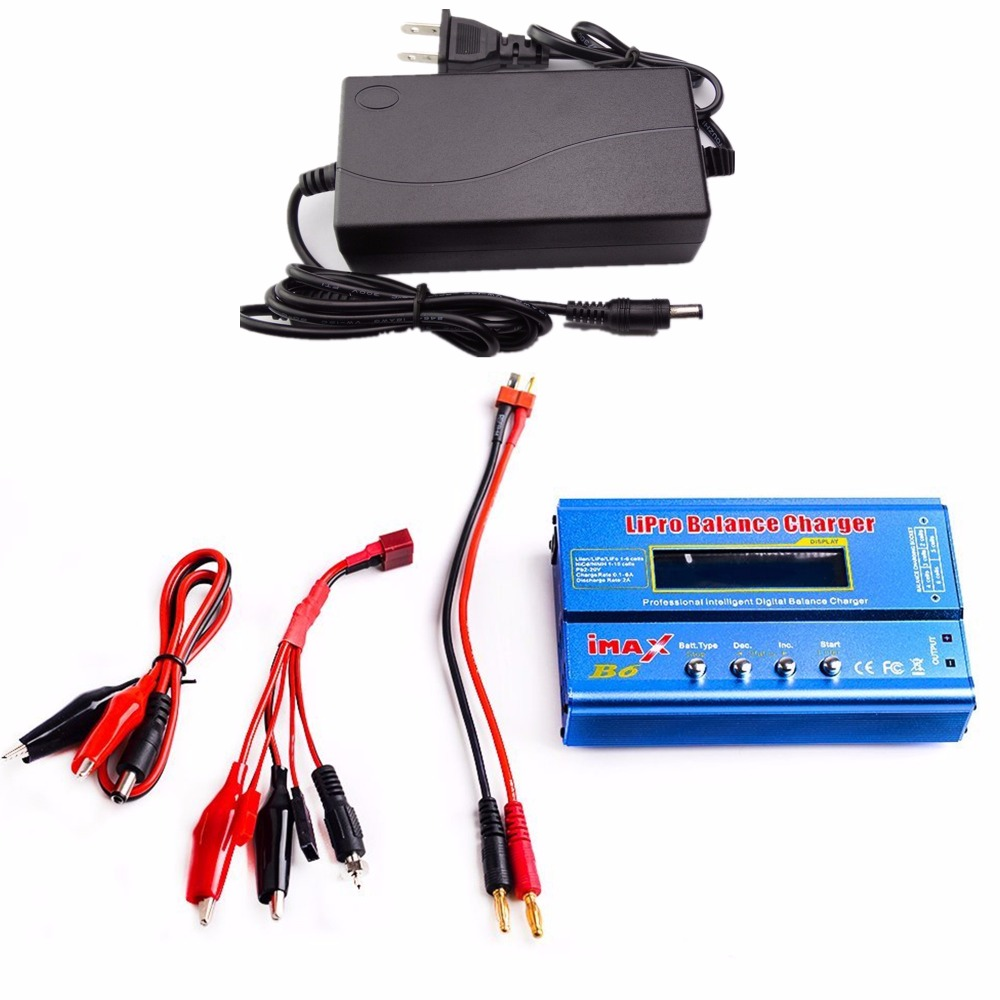 AKASO Factory Wholesale AKASO IMAX B6 Digital RC Lipo NiMh Battery Balance Charger With AC POWER
