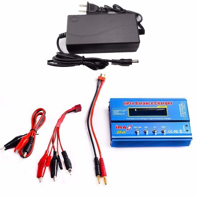 AKASO Factory Wholesale AKASO IMAX B6 Digital RC Lipo NiMh Battery Balance Charger With AC POWER 12v 6A Adapter