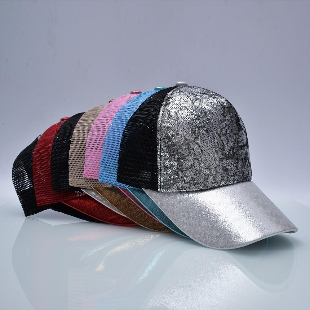 TQMSMY gorra de béisbol de empalme de lentejuelas de verano para - Accesorios para la ropa - foto 3