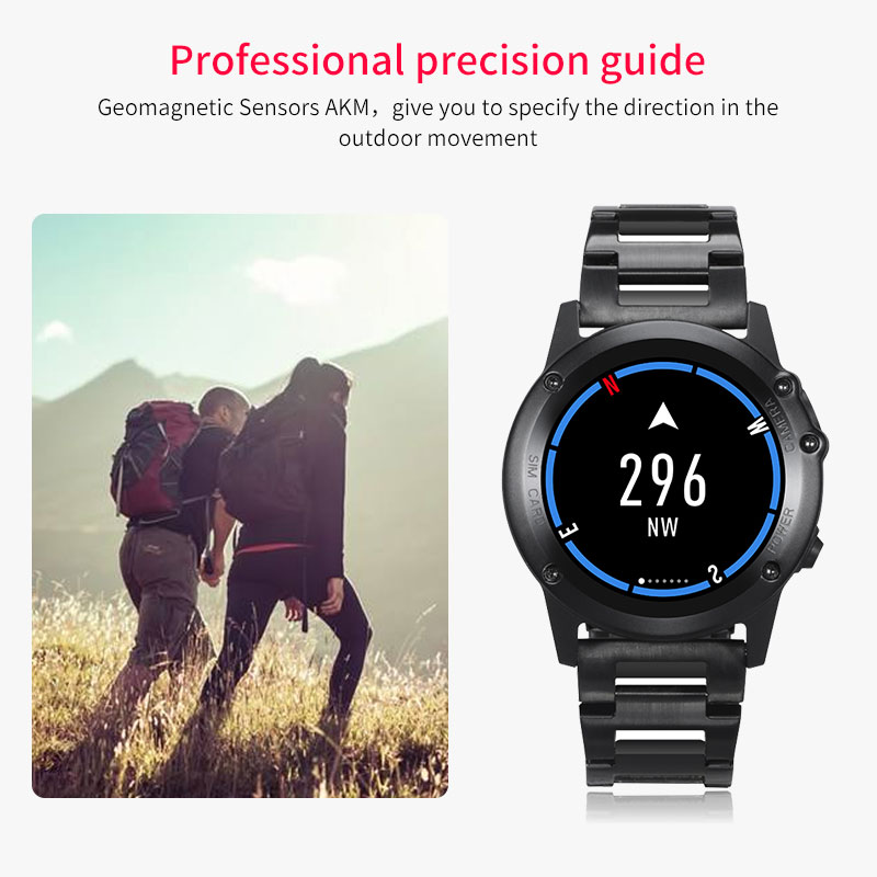 9199755ab76f13 [HOT DEAL] US $179.98 for Microwear H1 Smart Watch men waterproof Pedometer Smartwatch  GPS 3G WIFI Bluetooth Heart Rate smart watch earphone Altimeter