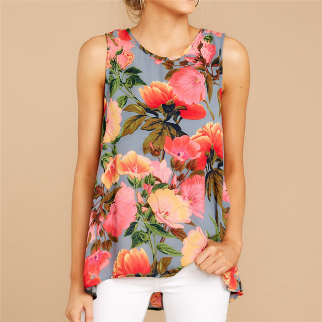 Ladies Party Floral Boho T-Shirt