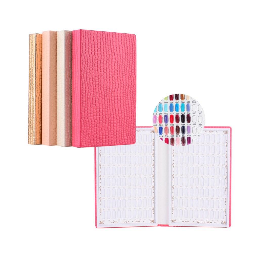 Book color palette - High End Diy Nail Polish Color Palette Card Template Book Shelves Nail Art Salon Tools