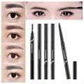 5 Colores de Pintura Lápiz de Cejas Enhancer Herramientas de Maquillaje Lápiz de Cejas Cepillo de Cejas Pen Cosméticos A Prueba de Agua Productos Esenciales de Belleza