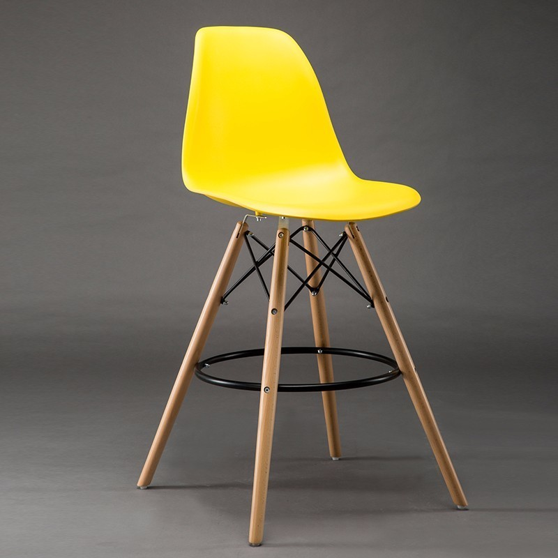 office Reception room chair Meeting stool warehouse wood leg chair factory company PC stool free shipping yellow color enterprise office meeting room chair reception room plastic seat wood leg stool free shipping