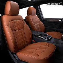 Kokololee Personalizado Couro tampa de assento do carro Para ROEWE 550 350 360 750 950 W5 E50 E950 E550 RX5 ei6 i6 ei5 RX3 RX8 i5 assentos de carro