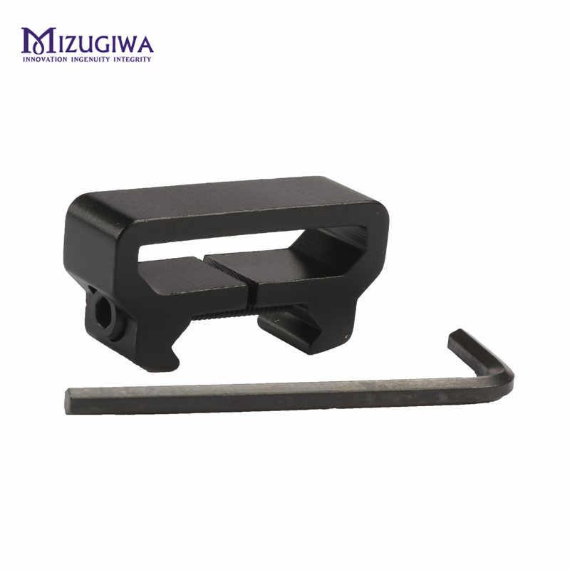 Accesorio cabestrillo táctico de Caza W 20mm Weaver Picatinny adaptador de montaje en riel Scope Rifle pistola accesorios Caza