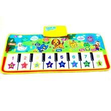 Музыке сканирование фортепиано музыкальные одеяло ковер музыкальный новорожденный мат коврик малыш