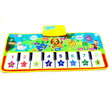 Piano blanket rug crawling carpet musical newborn music kid animal mat