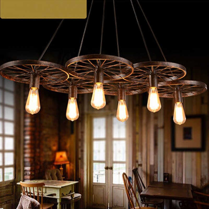 creative tire droplight industrial vintage pendant lights for bar ktv dining room lighting free ems shipping