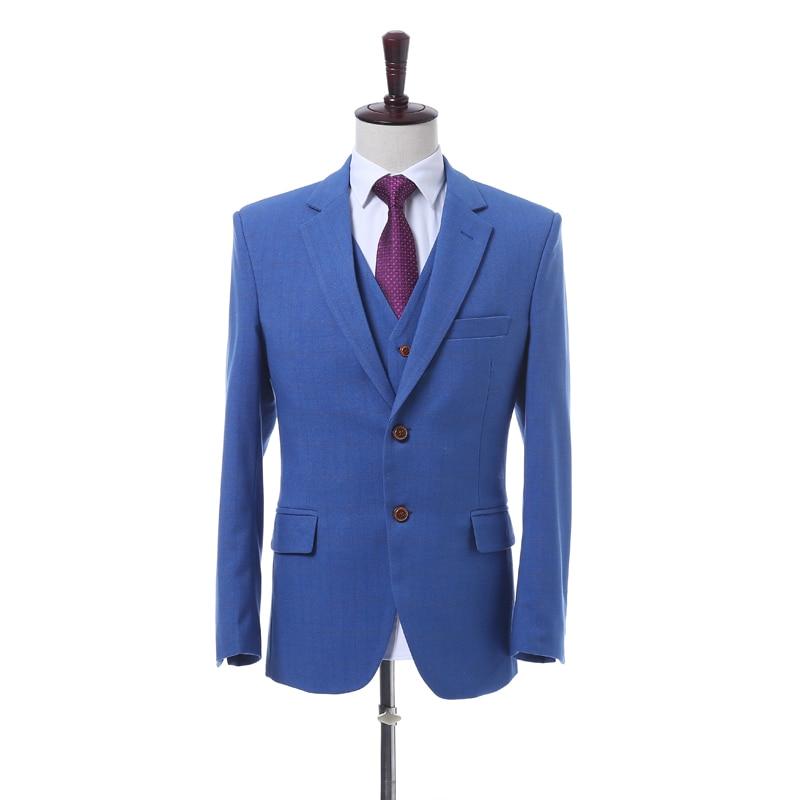 stück Hose Farbe Solide jacke Bräutigam Weste Hohe Picture Qualität Nach Kleid Hochzeit Anzug Same Drei As Männer wx8qYU