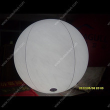 Free shipping LED light 2m/6.5ft giant inflatable balloon for events стоимость