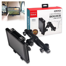 Универсальный автомобильный держатель OIVO, подставка для Nintendo Switch, консоль, держатель, автомобильное сиденье, подголовник, регулируемый держатель для Nintendo Switch