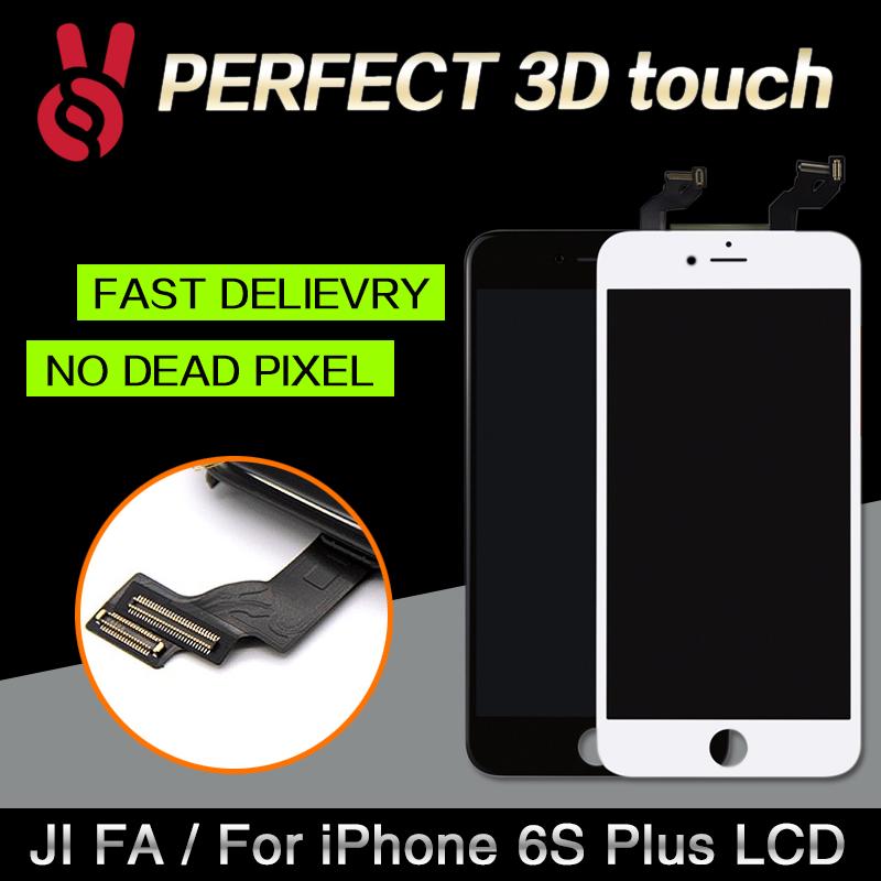 Prix pour 5 pcs/lot test un par un clonefor iphone 6s plus lcd affichage avec Écran Tactile Digitizer Assemblée Bon de Travail 3D Tactile Livraison DHL