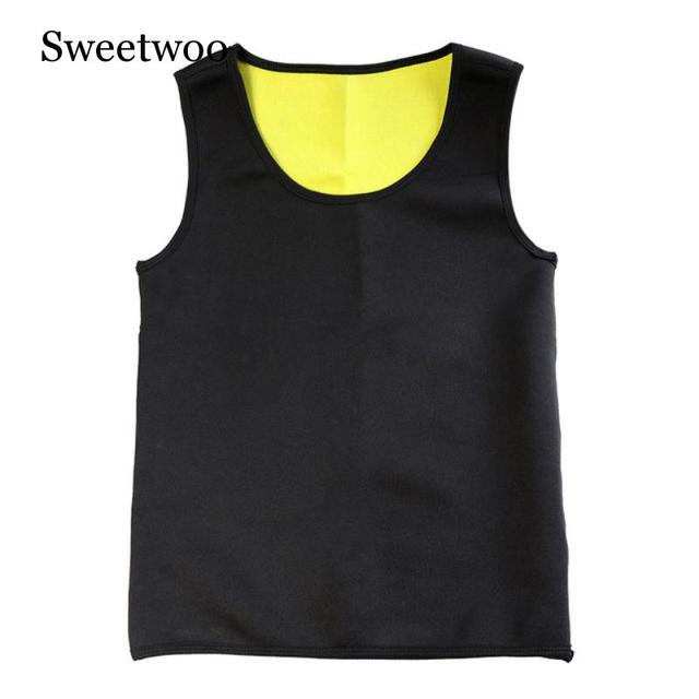 Slimming Belt Belly Men Sport Fitness Vest Abdomen Fat Burning Shaperwear Waist Sweat Corset Weight Dropshipping Waist Trainer 5