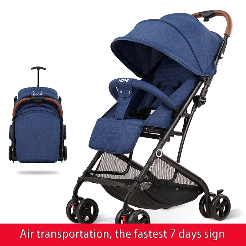 Brand lightweight folding baby stroller for newborns, with drawbars, can be used on airplane folding bikes,air transportBrand lightweight folding baby stroller for newborns, with drawbars, can be used on airplane folding bikes,air transport
