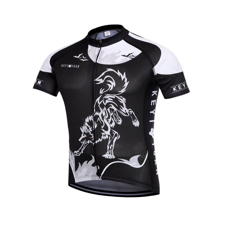 New KEYIYUAN Sports Equipment Cycling Clothing Bike Bicycle cycling short sleeve jersey TOP